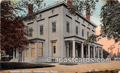 cau001088 - College Vintage Postcard