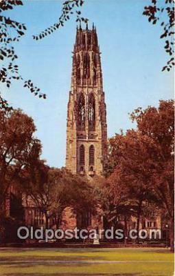 cau001097 - College Vintage Postcard