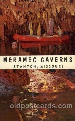 cav001005 - Meramec Caverns, Stanton, MO USA Cave Caves Post Card Postcard