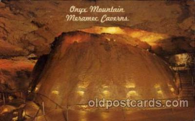 cav001035 - Onyx Mountain, Meramec Caverns, Stanton, Missouri, MO, USA Cave Caves Post Card Postcard