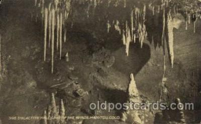 cav001040 - Cave of the Winds, Manitou, Colorado, CO USA Cave Caves Post Card Postcard