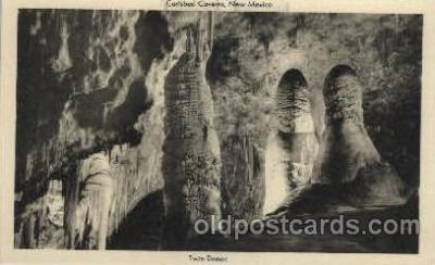 cav001041 - Carlsbad Caverns, National Park, New Mexico, NM USA Cave Caves Post Card Postcard
