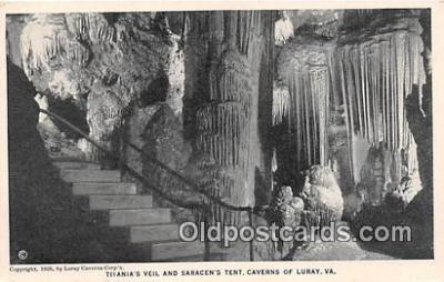 cav001071 - Cave, Caverns, Vintage Postcard