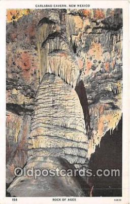 cav001117 - Cave, Caverns, Vintage Postcard