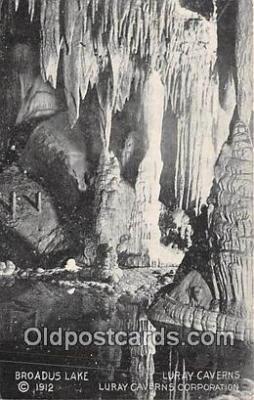 cav001118 - Cave, Caverns, Vintage Postcard