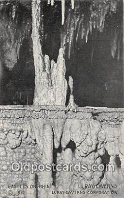 cav001122 - Cave, Caverns, Vintage Postcard