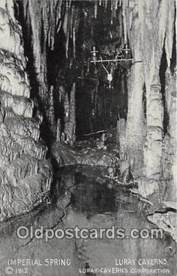 cav001124 - Cave, Caverns, Vintage Postcard