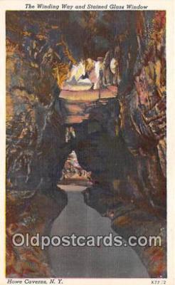 cav001136 - Cave, Caverns, Vintage Postcard