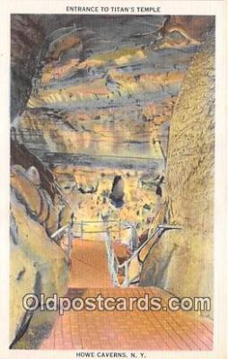 cav001140 - Cave, Caverns, Vintage Postcard