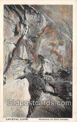 cav001143 - Cave, Caverns, Vintage Postcard