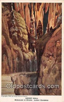 cav001148 - Cave, Caverns, Vintage Postcard