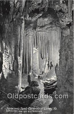 cav001150 - Cave, Caverns, Vintage Postcard