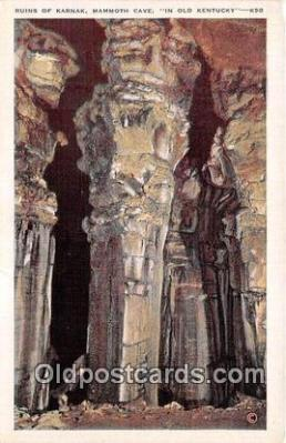 cav001167 - Cave, Caverns, Vintage Postcard