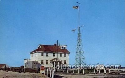 cgs001010 - Race Point Coast Guard Station Cape Cod, Mass, USA Postcard Post Cards Old Vintage Antique