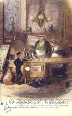 chd001007 - David Copperfield, Phiz, Chapter xi Charles Dickens Postcard Post Card