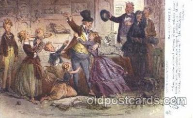 chd001009 - David Copperfield, Phiz, Chapter lii Charles Dickens Postcard Post Card