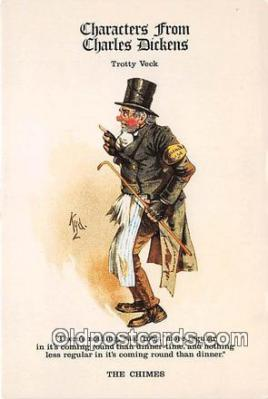 chd100005 - Reproductions - Characters from Charles Dickens Trotty Veck, The Chimes Postcard Post Card