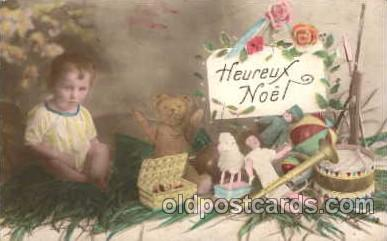 chi001059 - Children with Doll Postcard Post Card