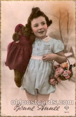chi001128 - Children Postcard Post Card