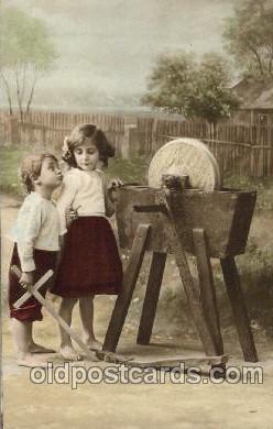 chi001150 - Children Postcard Post Card