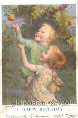 chi001176 - Children Postcard Post Card