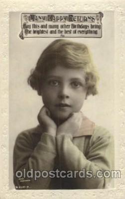 chi002103 - Rita Martin Children, Child, Postcard Post Card