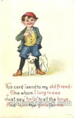 chi002111 - Children, Child, Postcard Post Card