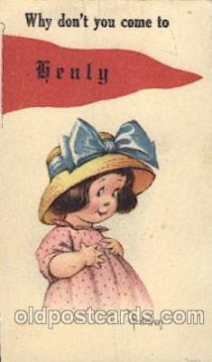 chi002127 - Artist Twelvetrees Children, Child, Postcard Post Card