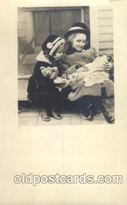 chi002156 - Teddy Bear Children, Child, Postcard Post Card