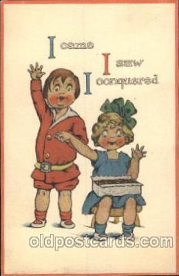 chi002163 - Children, Child, Postcard Post Card