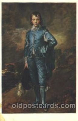 chi002180 - The blue boy Children, Child, Postcard Post Card