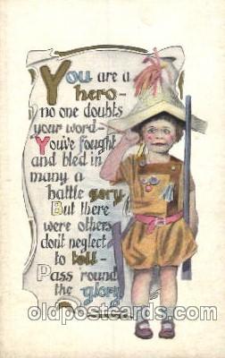 chi002196 - Children, Child, Postcard Post Card