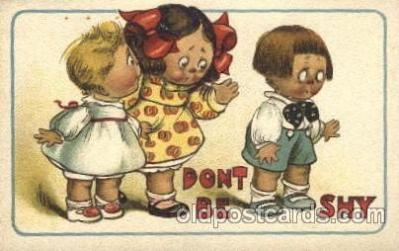chi002208 - Dont be shy Children, Child, Postcard Post Card