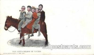 chi002209 - The enthusiasm of youth Children, Child, Postcard Post Card
