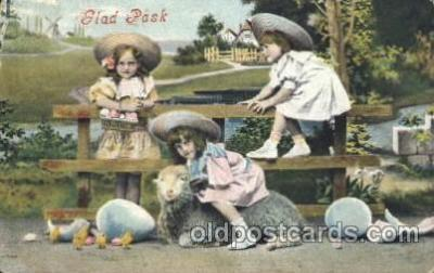 chi002235 - Sheep Children, Child, Postcard Post Card