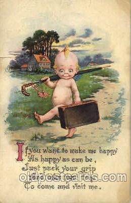 chi002244 - Old Vintage Antique Postcard Post Card