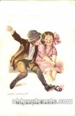 chi002251 - Artist J. Baumann Old Vintage Antique Postcard Post Card