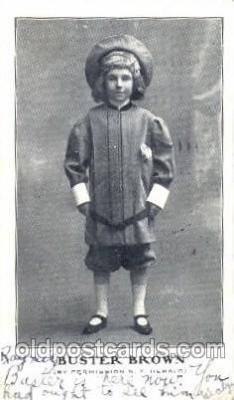 chi002266 - Buster Brown Old Vintage Antique Postcard Post Card