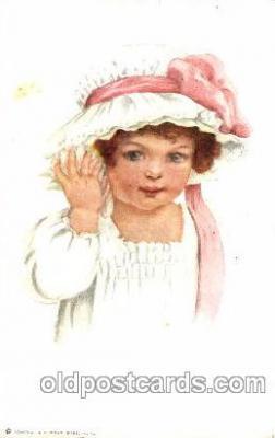 chi002288 - Artist Brundage? Old Vintage Antique Postcard Post Card