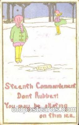 chi002294 - Old Vintage Antique Postcard Post Card