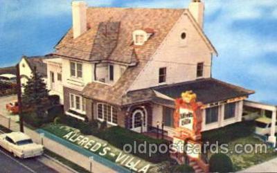 chi002299 - Alfred Villa Old Vintage Antique Postcard Post Card