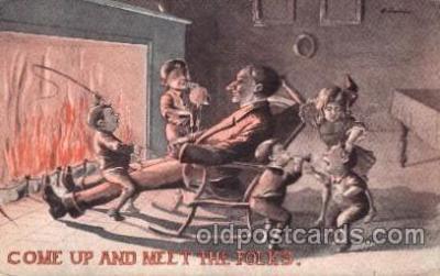 chi002309 - Old Vintage Antique Postcard Post Card