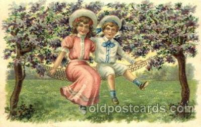 chi002312 - Old Vintage Antique Postcard Post Card