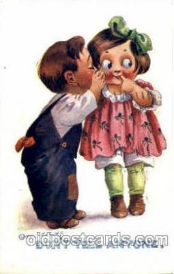 chi002332 - Child, Children Postcard Post Card