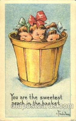 chi002334 - C.Twelve TreesChild, Children Postcard Post Card