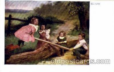 chi002349 - Child, Children Postcard Post Card