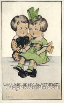 chi002371 - Children Child Old Vintage Antique Post Card Post Card