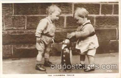 chi003016 - Child Children with Toy Toys Postcard Post Card