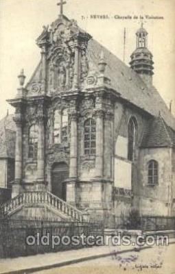 chr001010 - Nevers, Chapelle de la Visitation Church Churches Postcard Post Card