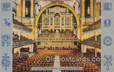 chr001014 - Churches Vintage Postcard